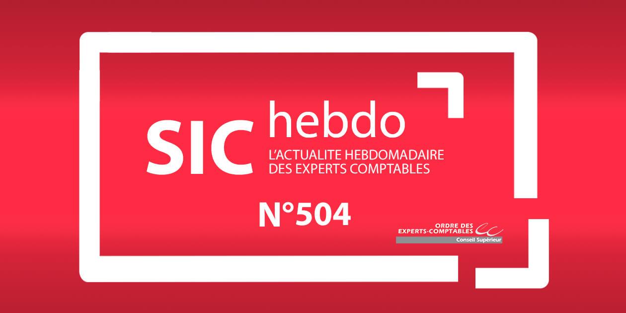 SIC hebdo N 504