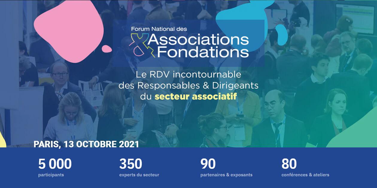 Forum National des Associations et des Fondations fnaf apar 2021