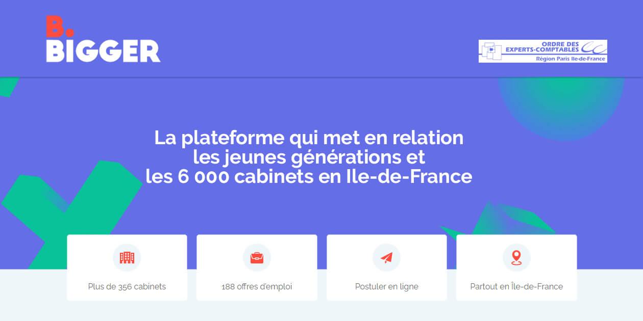 oec paris ile de France ordre expert comptable  bbigger apar 2020